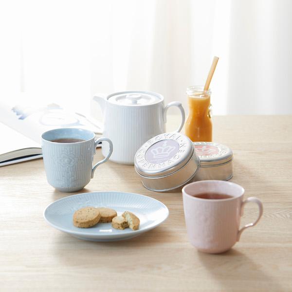 ロイヤル コペンハーゲン 紅茶・クッキーセット(紅茶2種/クッキー2種)*