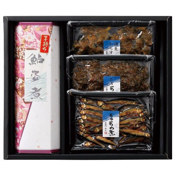 滋賀・魚岩安曇川店 湖魚佃煮詰合せ