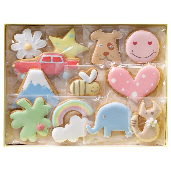 You Me & Cookies アイシングクッキー 12袋入り*
