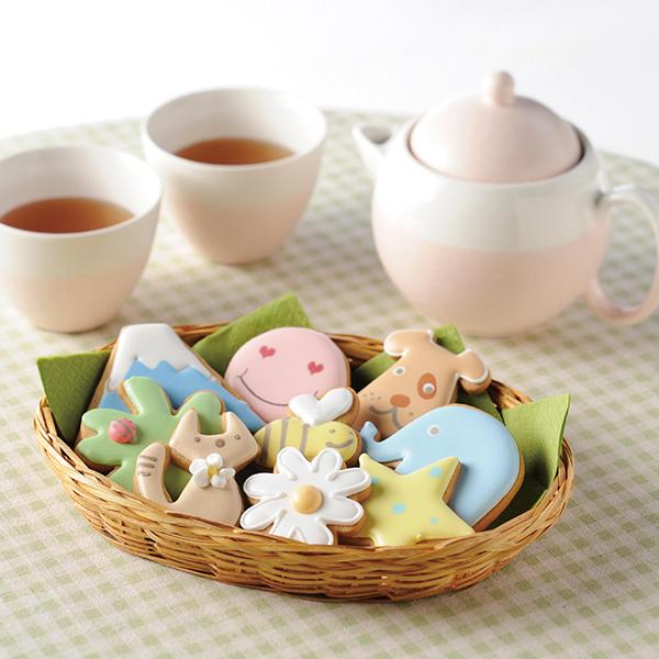 You Me & Cookies アイシングクッキー 13袋入り*