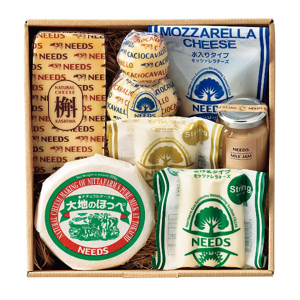 北海道・NEEDS ナチュラルチーズ バラエティーセット*