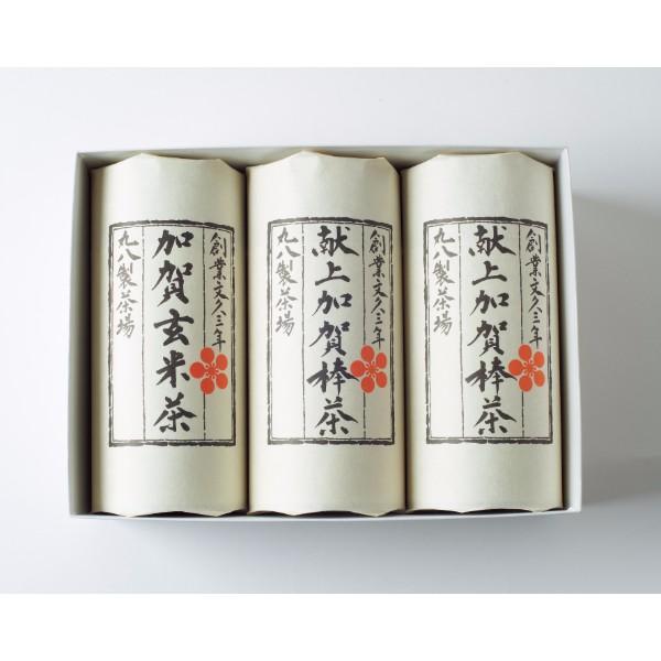 石川・丸八製茶場 献上加賀棒茶詰合せ