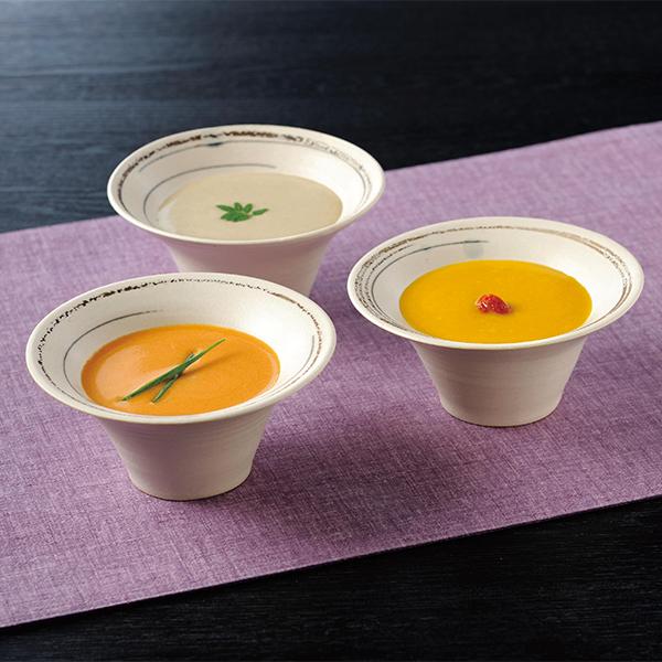 なだ万 おもてなしのすり流しスープ(3種9個)