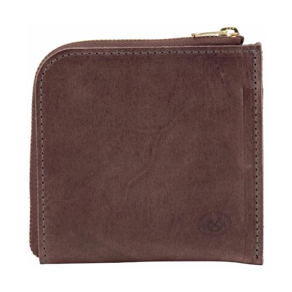 テンペスティ L型財布 (チャコールグレー)