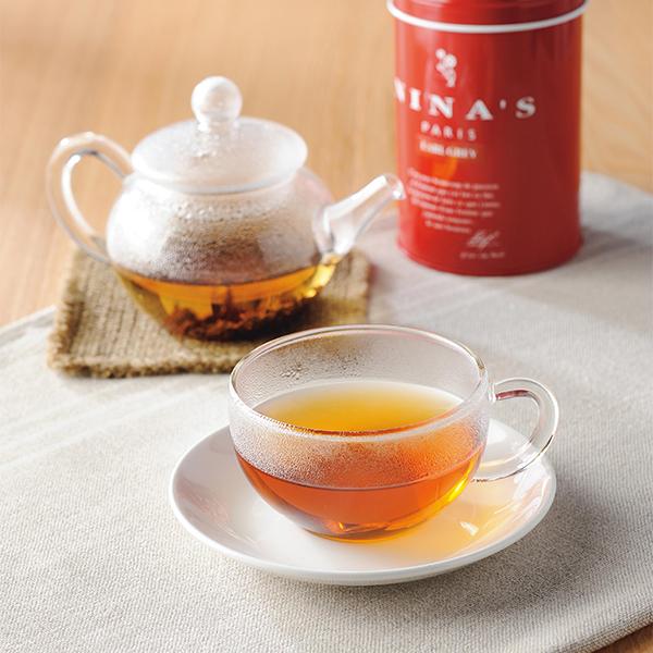 NINA'S 紅茶(アールグレイ・セイロン・カトルフリュイルージュ)*