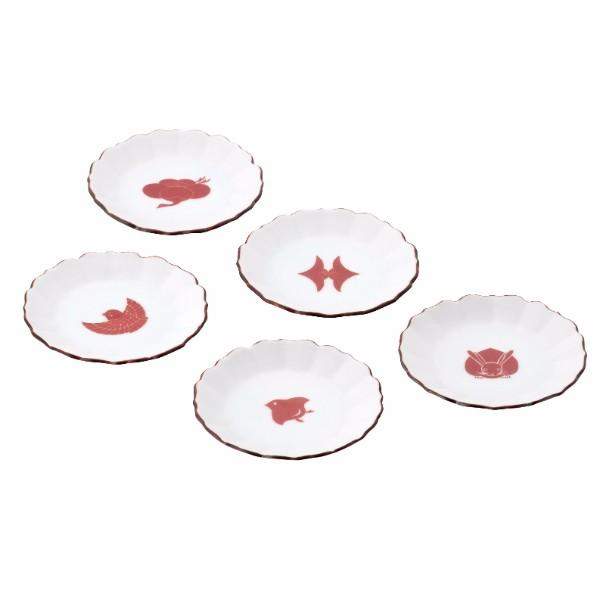 柳櫻窯 豆皿5枚セット