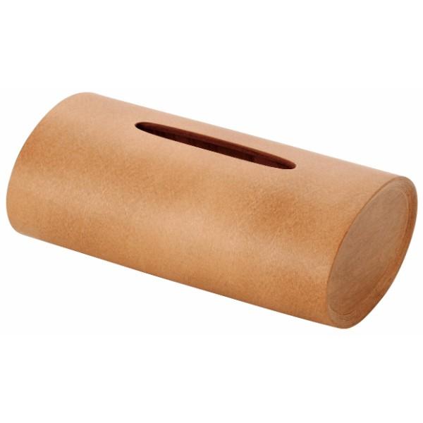 ブナコ スウイング ティッシュボックス(キャラメルブラウン)