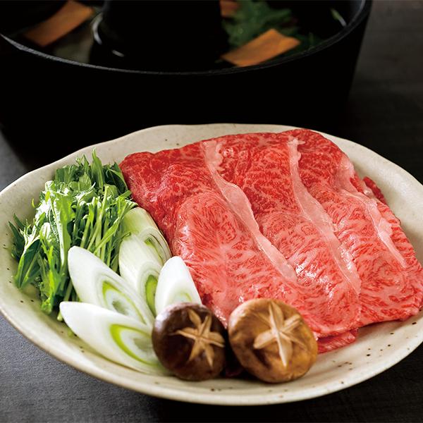 米沢牛 すき焼き・しゃぶしゃぶ用 (肩肉・バラ肉450g)