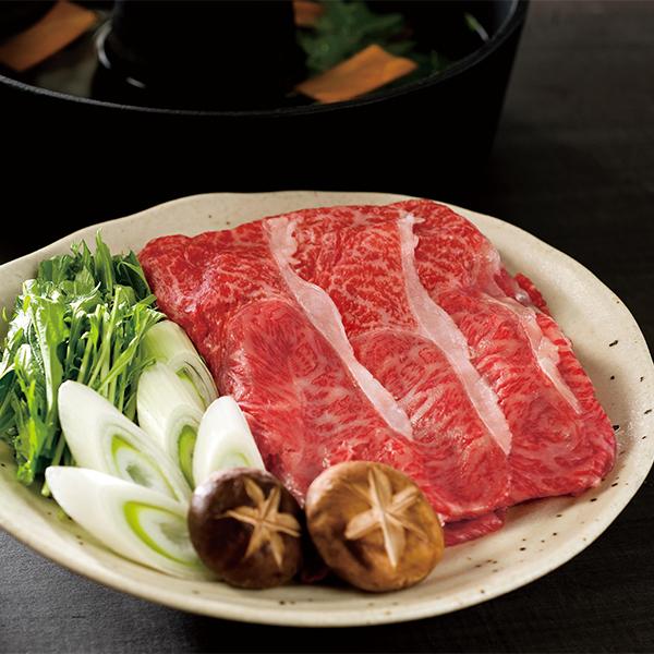 米沢牛 すき焼き・しゃぶしゃぶ用 (肩ロース肉・モモ肉・バラ肉650g)