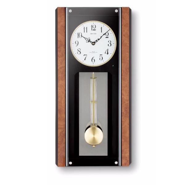 リズム 報時付電波掛時計イルレガロ