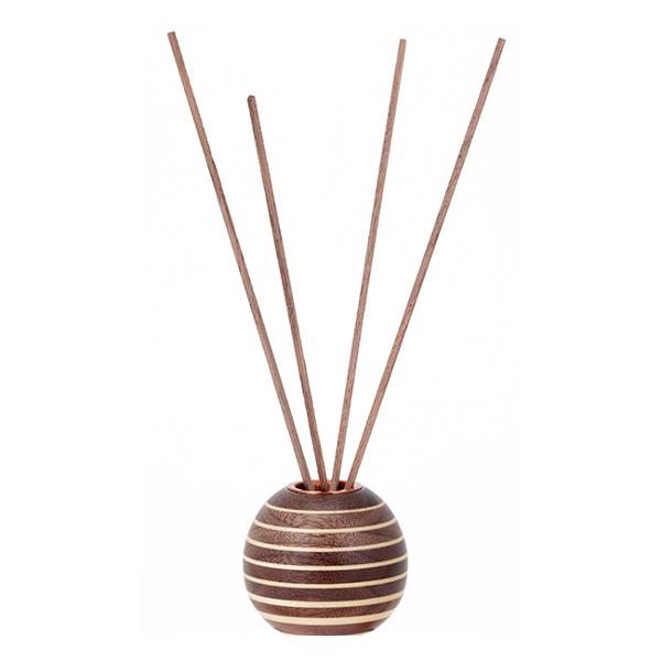 香音 リードディフューザー寄木細工(ボーダー柄)桜オイル付