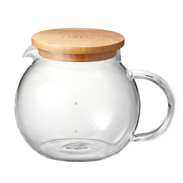 コレス ハンドメイドガラスサーバー4カップ