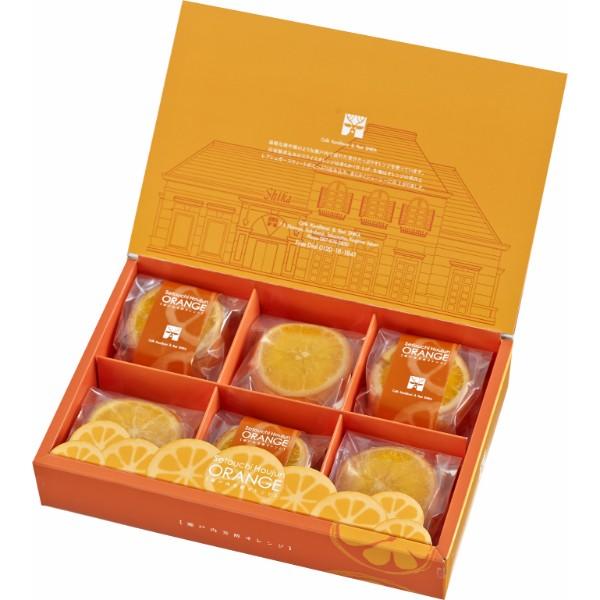 シカ 瀬戸内 芳醇オレンジケーキ(6個入)