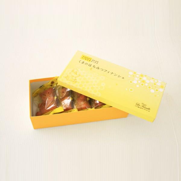 ラ・ファミーユ くまの蜂蜜フィナンシェ 5個入*
