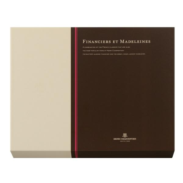 アンリ・シャルパンティエ フィナンシェ・マドレーヌ詰合せ 24個入り