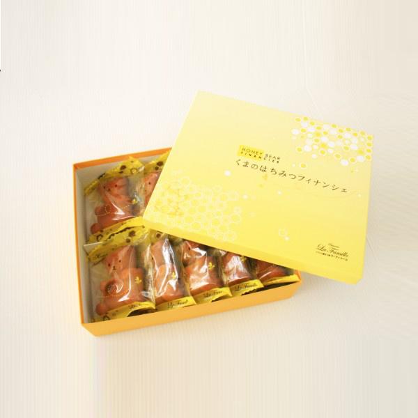 ラ・ファミーユ くまの蜂蜜フィナンシェ 10個入*