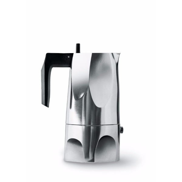 "ALESSI ""Ossidiana""エスプレッソコーヒーメーカー"