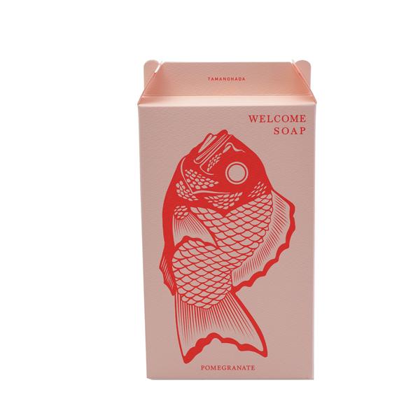 玉の肌石鹸 ウェルカムソープ 柘榴