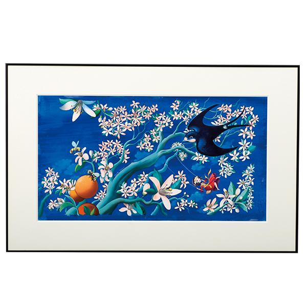 Un Papillon 原画「つばめ」