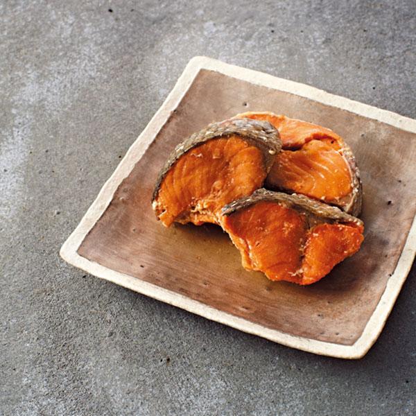 肴七味屋 紅鮭フレーク・水煮セット*