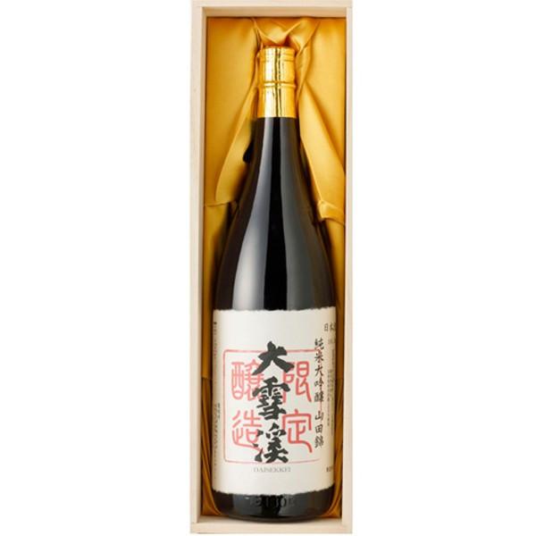 大雪渓 純米大吟醸山田錦 1.8L