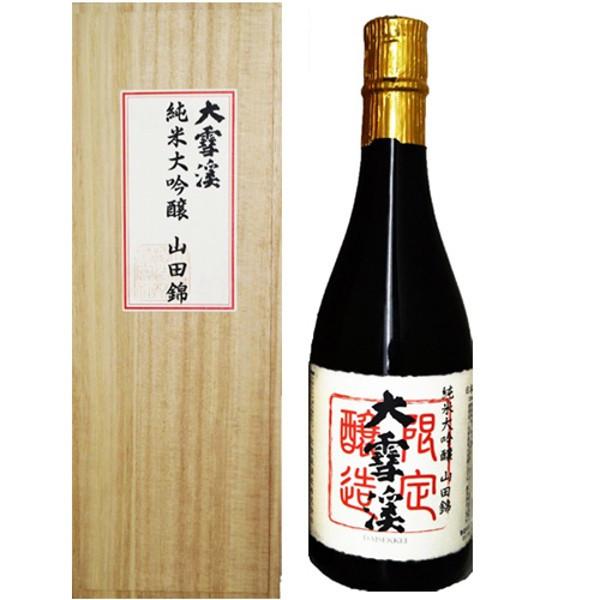 大雪渓 純米大吟醸山田錦 720ml